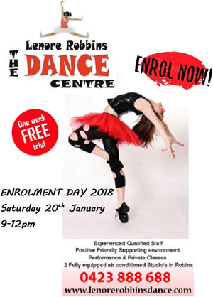 LRDANCE Enrolment Day small2